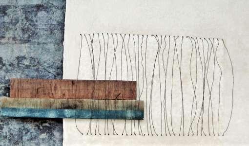 Vom Bild zum Objekt: Bütten – Holz – Draht