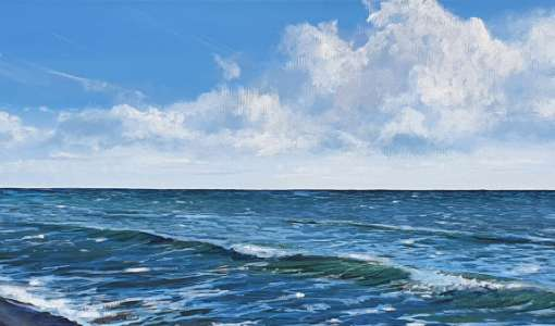 Himmel, Weite & das Meer