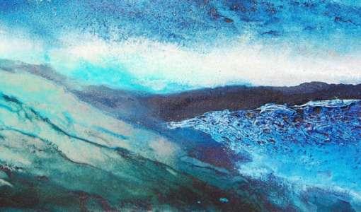 Experimentell und abstrakt: Impressionen am Meer
