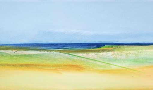 Abstrakte Landschaften - Nordische Farbwelten