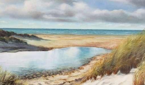Malerische Ostsee: Vom Motiv zum fertigen Bild