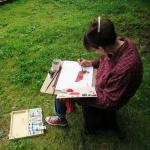 Malen und zeichnen lernen in der Natur